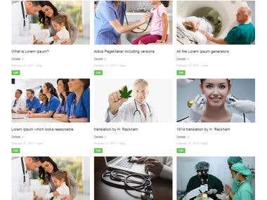 Medical site Blog