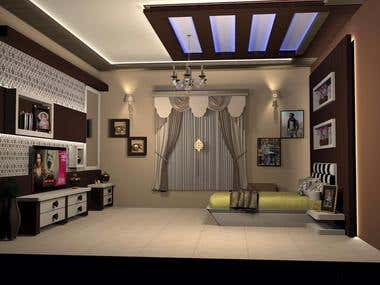 Interior Room Designs (AutoCAD)