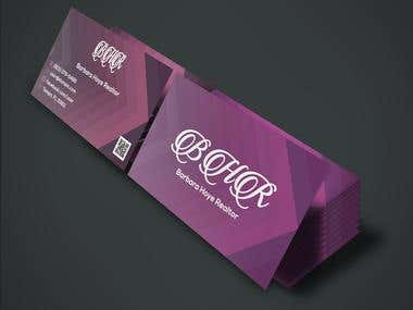 Business Card with Unique Design
