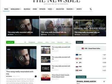 THE NEWSBEE (Magazine Website )