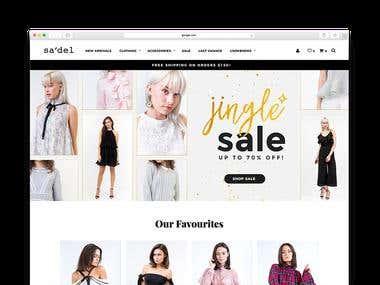 Shop Sadel