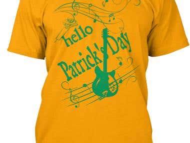 Hasil Desain saya Tshirt