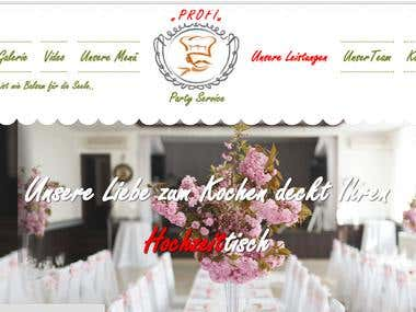 "Profi Party ""Our wedding menu for wedding table"""