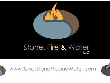 Winning Logo: Stone, Fire, & Water LLC