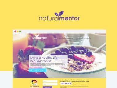 Naturam Mentor Website