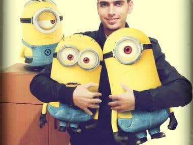 Me with minions :D
