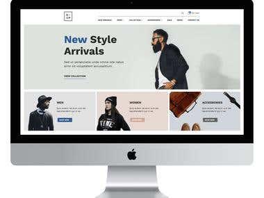 Dress to Impress - Web Design