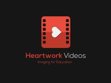 An info-graphic & Logo design for Heartwork Videos.