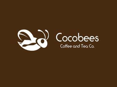 Logo Design for Cocobees Tea & Coffee
