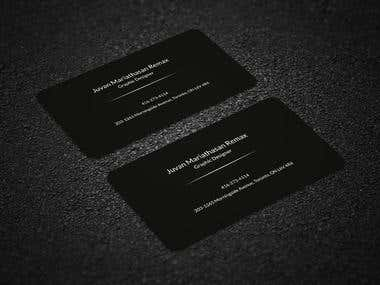 Business card...