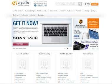 Magento Designed Site