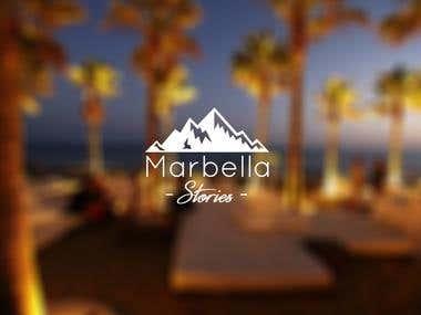 Logo Design for Marbella Stories