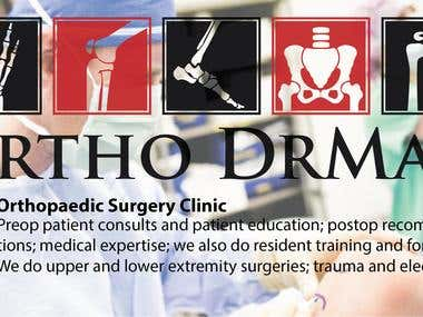 Logo For Orthopedic Surgery Clinic.