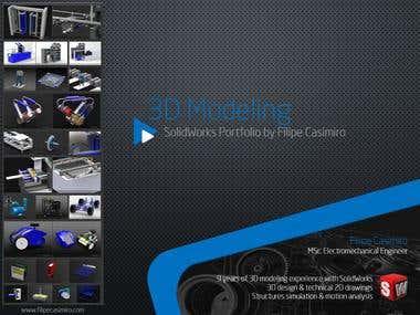 3D/2D SolidWorks Modeling