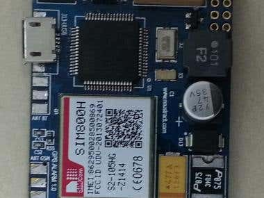 GSM-GPS-IoT STM32F103RC