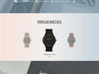 Site Redesign — Boom Watches