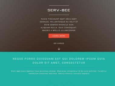 ServBee (Corporate Website)