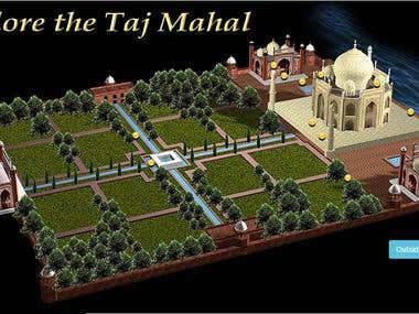 "Explore the Exquisiteness of The ""Taj-Mahal"""