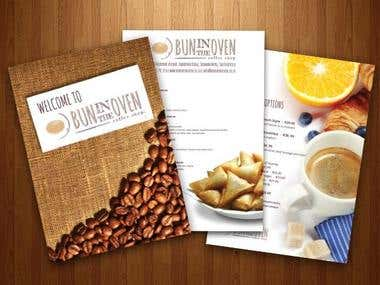 Menu and Logo Design