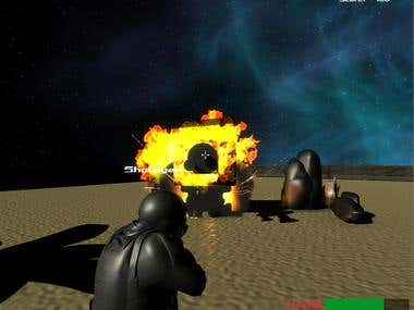 Third Person Shooter Demo