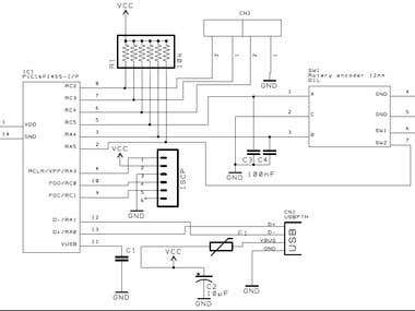 USB HID device with PIC16F1455 with volume control