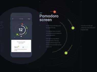 Pomodoro - Task management app