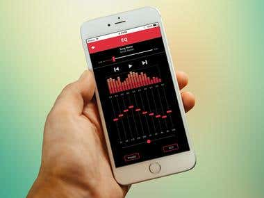 iOS EQ App Design