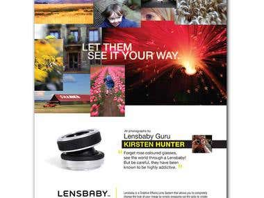 Lensbaby Ad Campaign