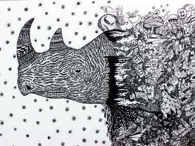 Doodle illustration