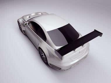 3D Modeling [BMW M3 GTRe92]