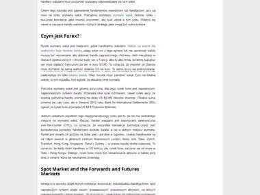 Forex Opinie Porównanie brokerów Forex CFD i Opcje Binarne