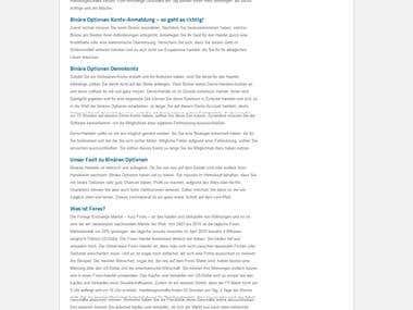 Binäre Optionen Forex Broker Vergleich Alle Erfahrungen