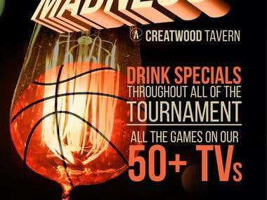 Creatwood Tavern Poster