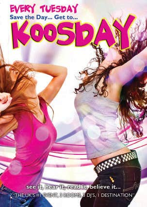Koosday Flyer/Poster