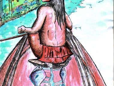 Indio del Amazonas