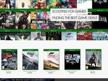 Xbox Game Price Comparison
