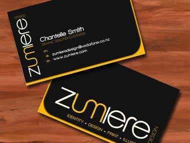 business card sample 1