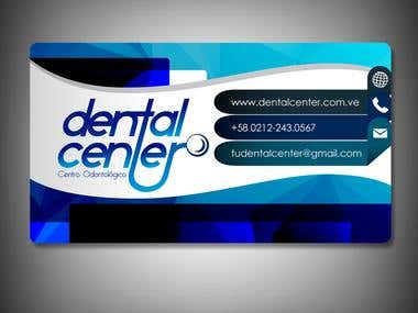 Business Card Dental Center