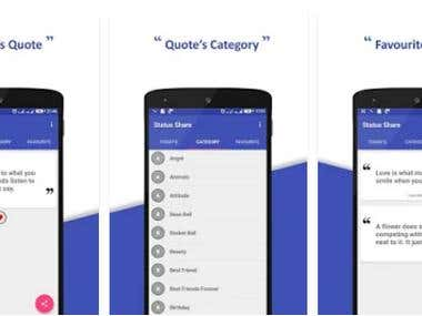 Status Share android app