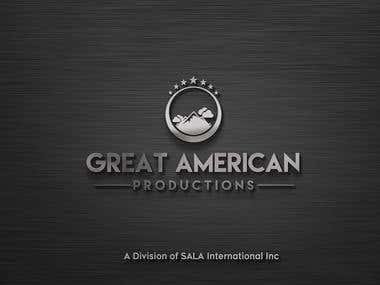 Great American Productions - Logo Design