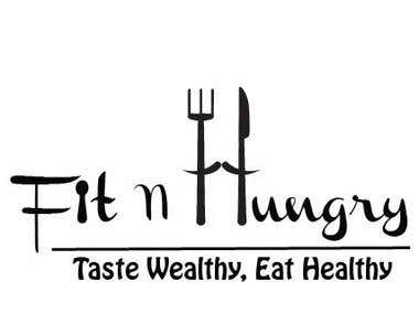 Fit n Hungry - Logo Design