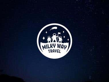 Logo for Milky Way Travel