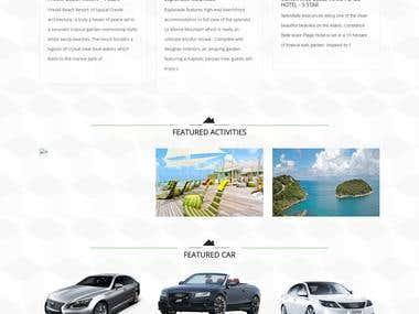 Residence Indira - CodeIgniter Website