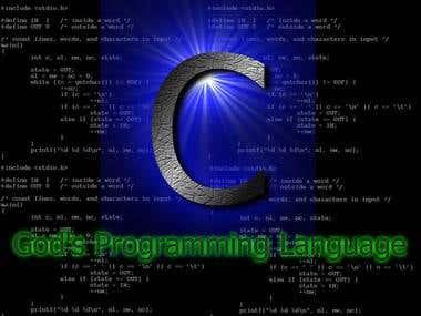 C-The God's program language