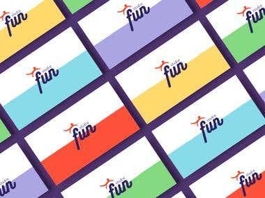 Logo e Identidade visual Studio Fun