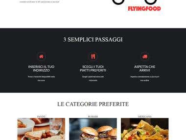 FlyingFood Website
