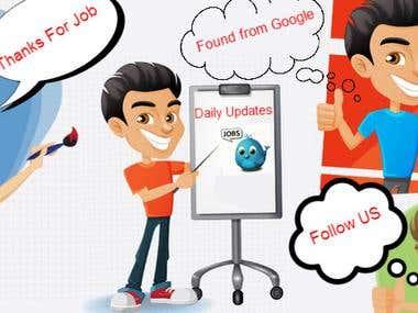 banner of job portal