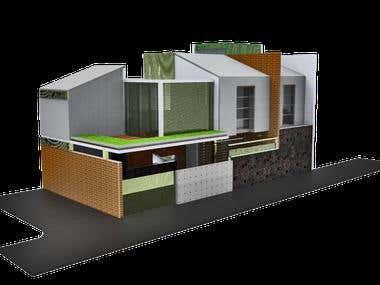 YANA HOUSE - BUILDING DESIGN - PRIATELABORATORY