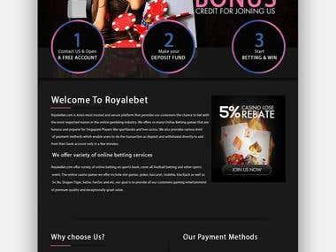 Casino & betting Design