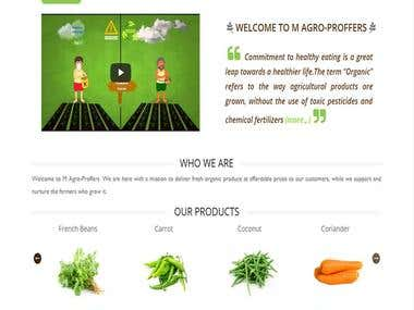 M-Agro-Proffers - Ecommerce Website